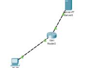 jaringan client server di cisco packet tracer