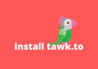 cara install tawk to